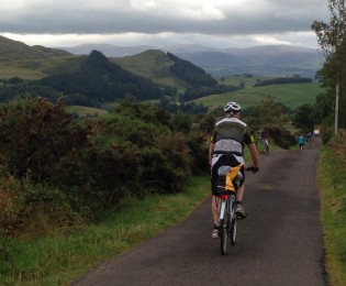 Day 1 - Castle Douglas to Newton Stewart - around 40 miles