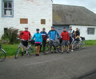 Day 3 - St John's Town of Dalry to Thornhill - around 32 miles