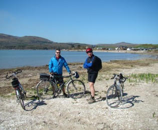 Day 4 - Kirkcudbright to Gatehouse of Fleet - from 16 miles.