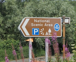 Day 1 - The Nith Estuary National Scenic Area - 25 miles.