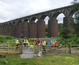 Day 3 - Gatehouse to Newton Stewart - 26 miles.