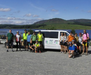 Day 5 - Newton Stewart to The Glenkens - 23 miles.