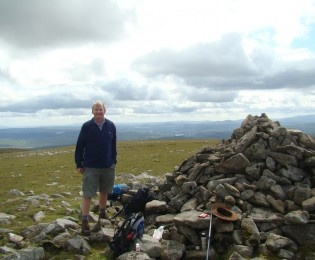 Cairnsmore of Carsphairn (800m) – 10 miles.