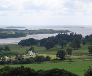 Fleet National Scenic Area and Gatehouse of Fleet - from 5 miles.