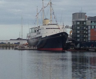Royal Yacht Britannia and Leith Waterfront
