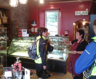 Day 5 - Loch Arthur visit, Castle Douglas 'food town' and Noctural Wildlife Tour
