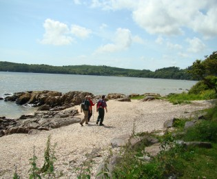 Day 6 - Guided coastal walk in National Scenic Area