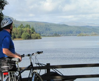 Day 3 – Loch Ken Circuit option – from 15 miles.